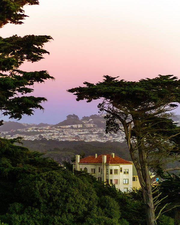 Sutro Heights Park Poster featuring the photograph Sutro Heights Park View by Greg Reed