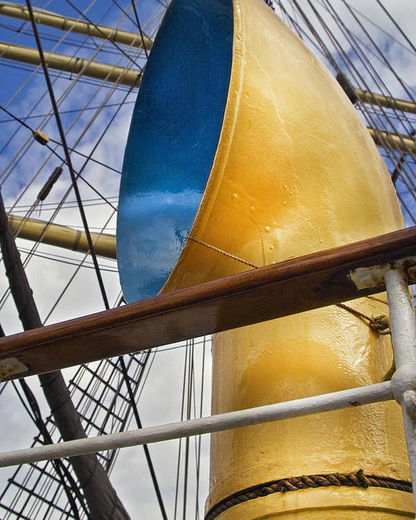 Tall Ships Poster featuring the photograph Tall Ship by Robert Lacy