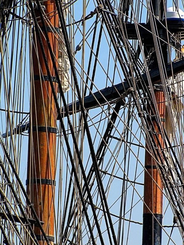 Hovind Poster featuring the photograph Tall Ship Series 11 by Scott Hovind
