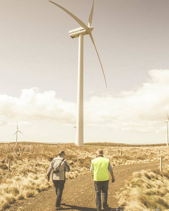 Turbine Poster featuring the photograph Tasmania Turbine Tours by Jorgo Photography - Wall Art Gallery