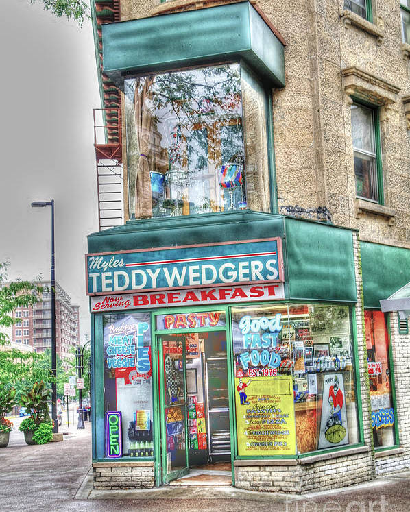 Madison Wisconsin Poster featuring the photograph Teddywedgers by David Bearden