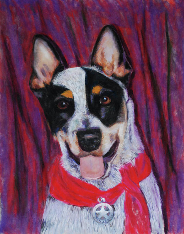 Dingo Poster featuring the painting Texas Ranger by Billie Colson