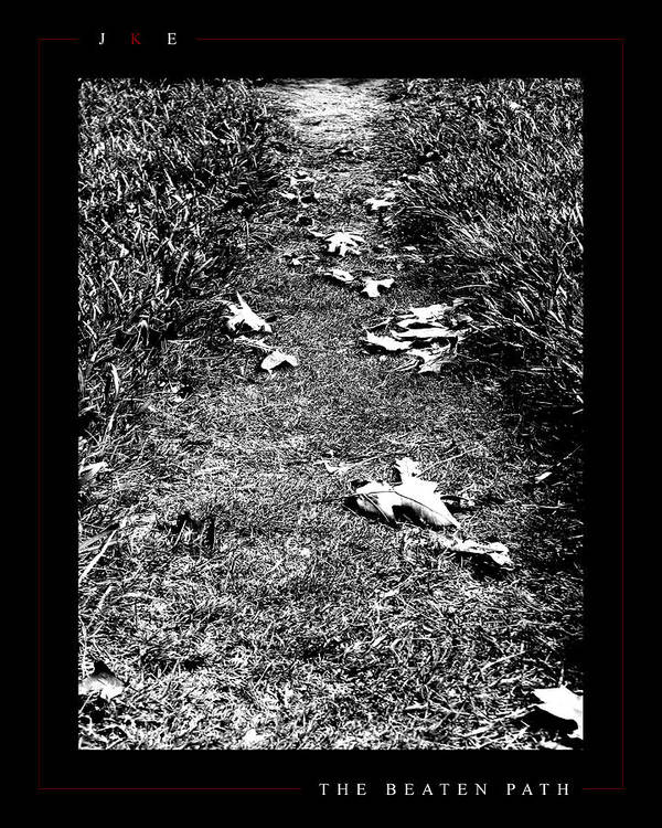 Ksu Poster featuring the photograph The Beaten Path by Jonathan Ellis Keys