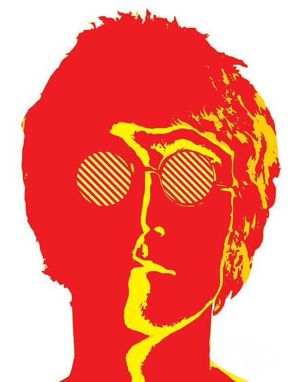Artwork Poster featuring the digital art The Beatles No.09 by Caio Caldas
