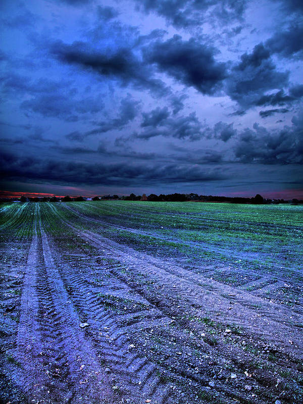 Horizons Poster featuring the photograph The Blues by Phil Koch