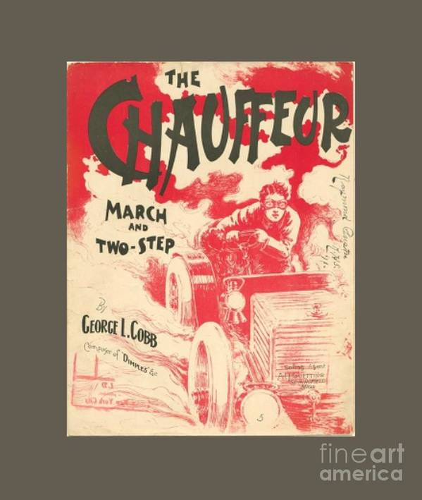 Chauffeur Poster featuring the digital art The Chauffeur by Frederick Holiday