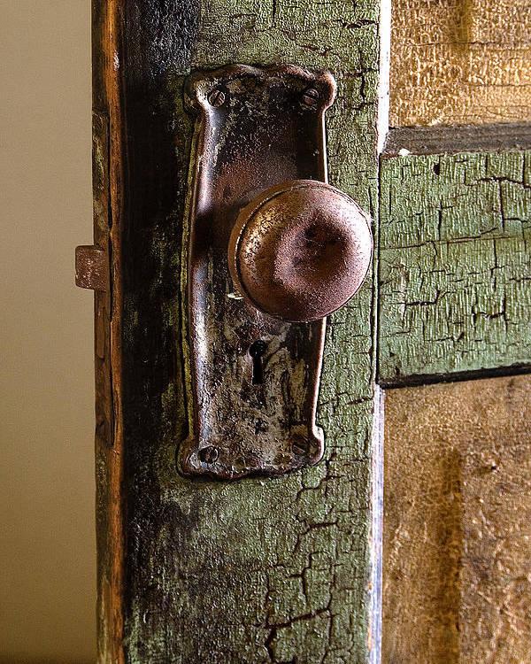 Door Poster featuring the photograph The Door Knob by Linda McRae
