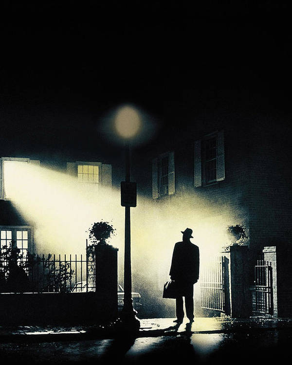 1970s Poster Art Poster featuring the photograph The Exorcist, Poster Art, 1973 by Everett