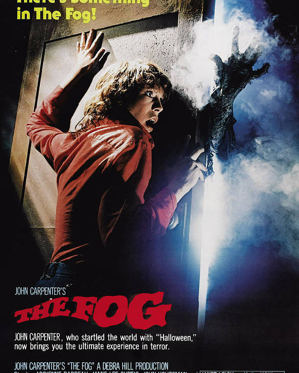 1980 Movies Poster featuring the photograph The Fog, Jamie Lee Curtis, 1980 by Everett