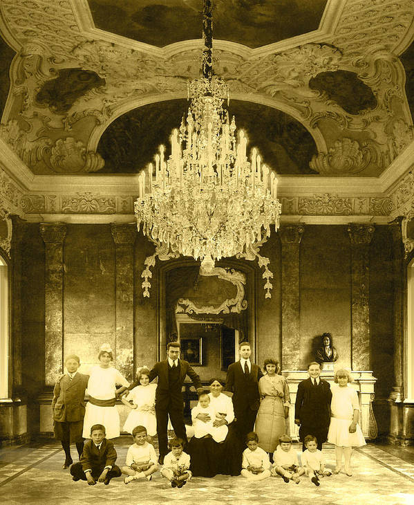 Interior Scene Poster featuring the photograph The Last Visit by Roslyn Rose