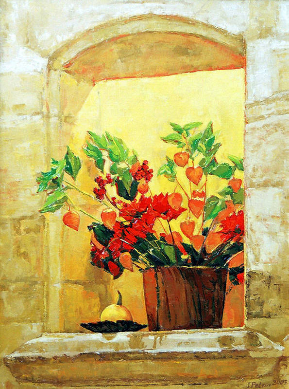Still Life Poster featuring the painting The Light by Iliyan Bozhanov