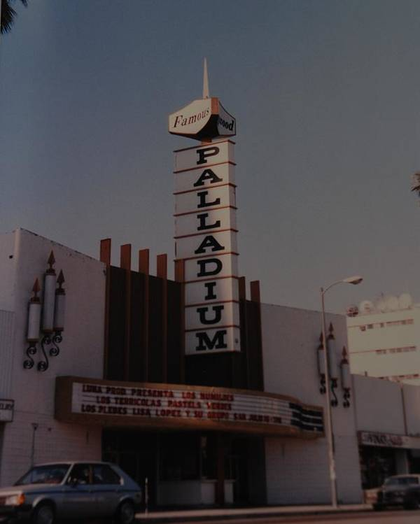 The Palladium Poster featuring the photograph The Palladium by Rob Hans