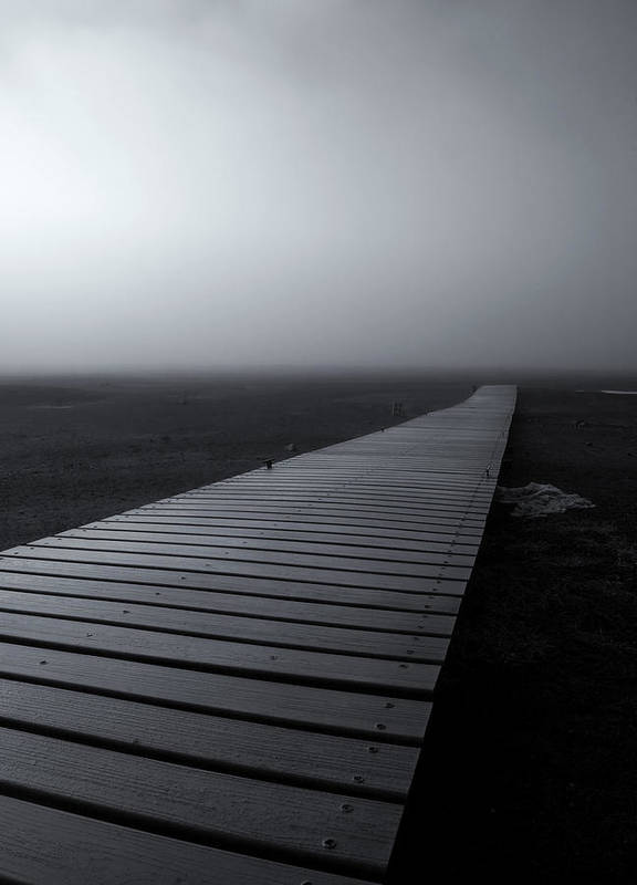 Dock Poster featuring the photograph The Path by Mike Dawson