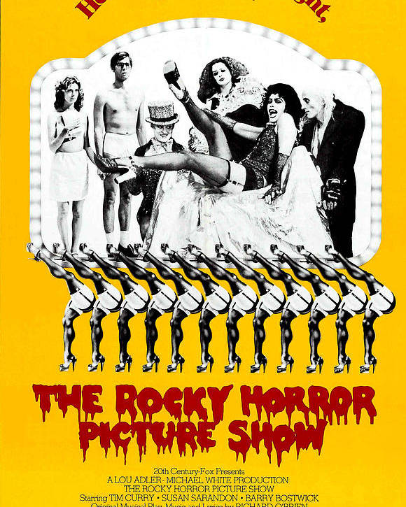 1970s Poster Art Poster featuring the photograph The Rocky Horror Picture Show by Everett