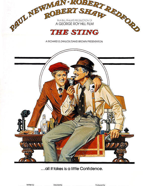 1930s Poster featuring the photograph The Sting, The, Robert Redford, Paul by Everett