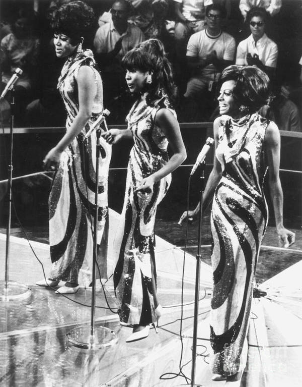 1963 Poster featuring the photograph The Supremes, C1963 by Granger