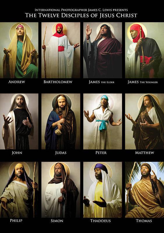 the twelve disciples of jesus