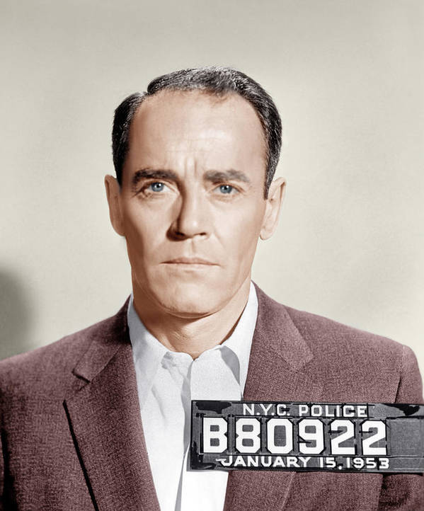 1950s Portraits Poster featuring the photograph The Wrong Man, Henry Fonda, 1956 by Everett