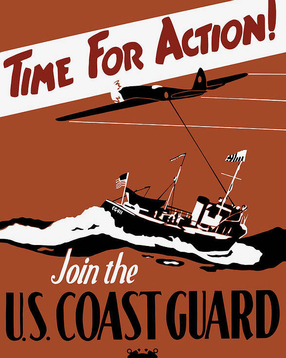 Image result for COAST GUARD POSTER