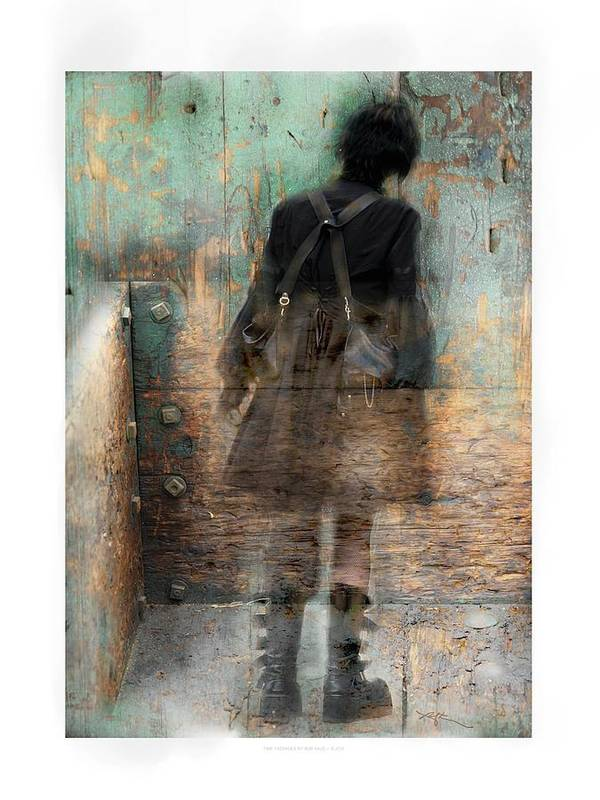 Girl Poster featuring the photograph Time Passages - Beyond All Barriers by Bob Salo