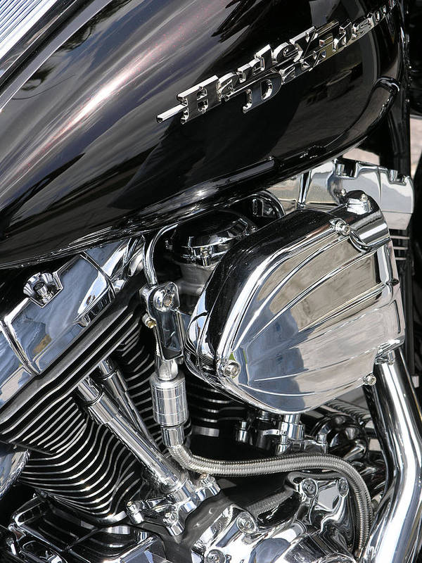 Motorcycle Poster featuring the photograph Timeless by Jim Derks