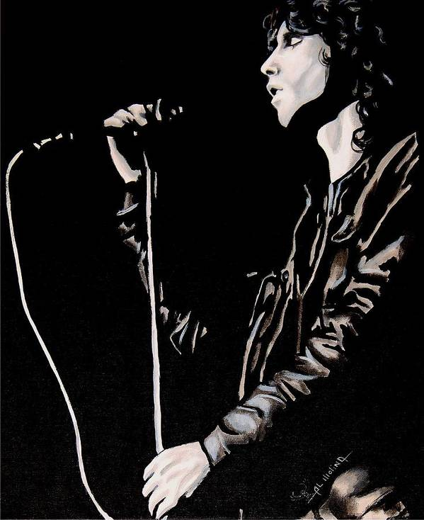 Classic Rock Poster featuring the painting Tragic Poet by Al Molina