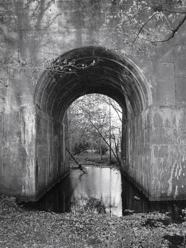 Creak Poster featuring the photograph Tunnel by Keith Gray