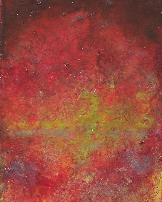 Abstract Poster featuring the painting Twilight by Karla Phlypo-Price