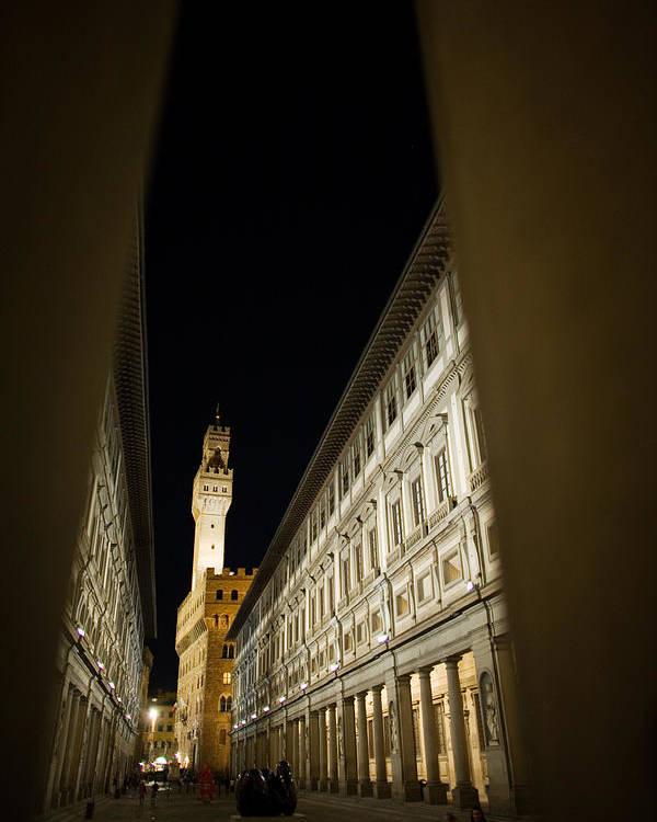 Italy Poster featuring the photograph Uffizi by Luigi Barbano BARBANO LLC