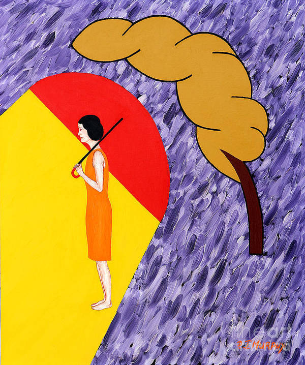 Love Poster featuring the painting Under The Shelter Of Your Love by Patrick J Murphy