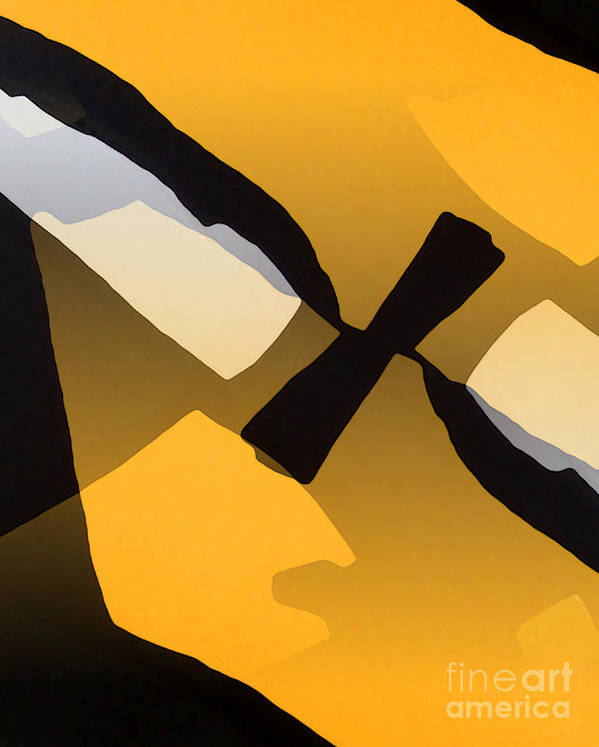 Abstract Poster featuring the photograph Under The Surface by Anne Reeskamp