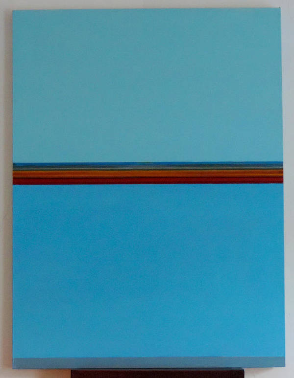 #abstract Poster featuring the painting Untitled by Erin Trunel