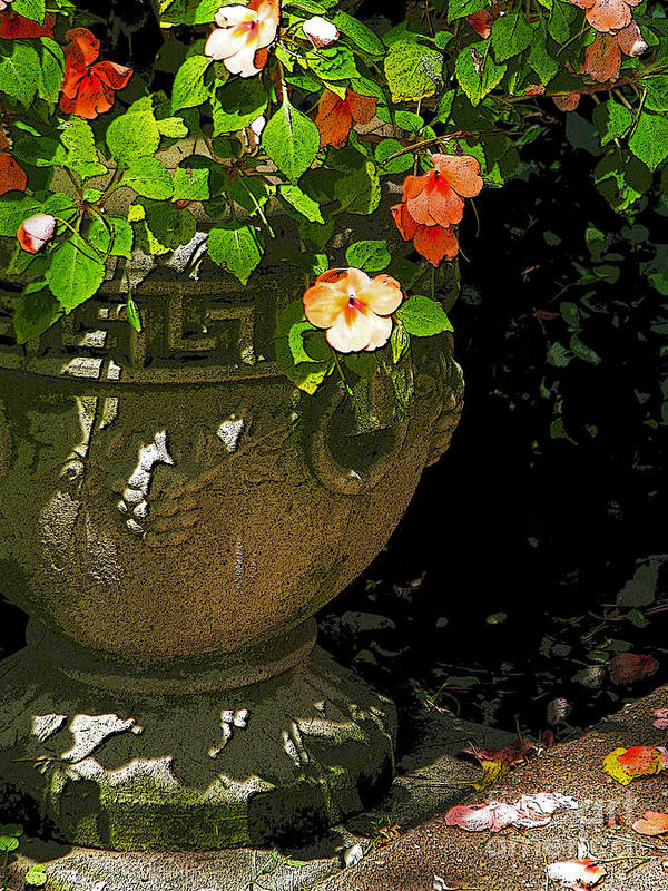 Urn Poster featuring the photograph Urn Of Impatience by Deborah Johnson