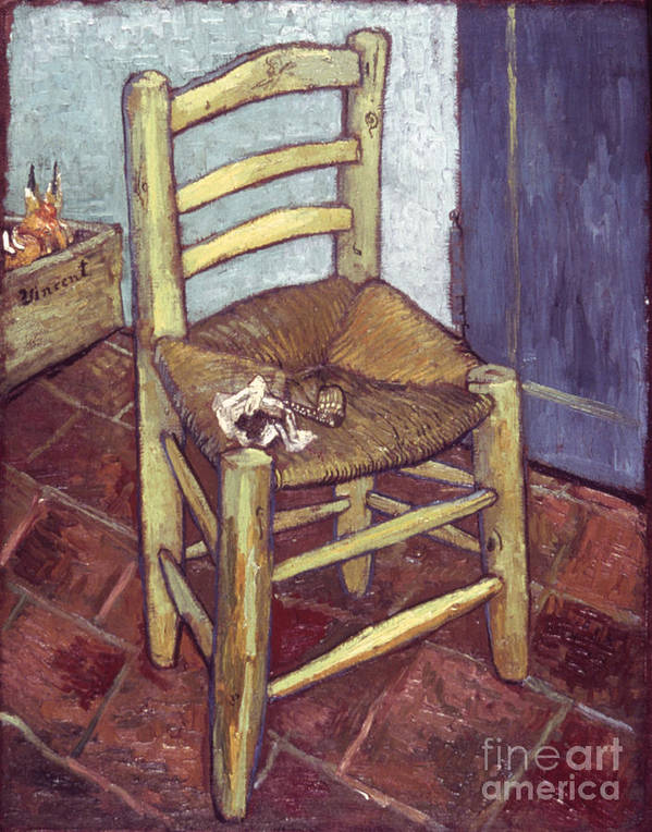 1888 Poster featuring the photograph Van Gogh: Chair, 1888-89 by Granger