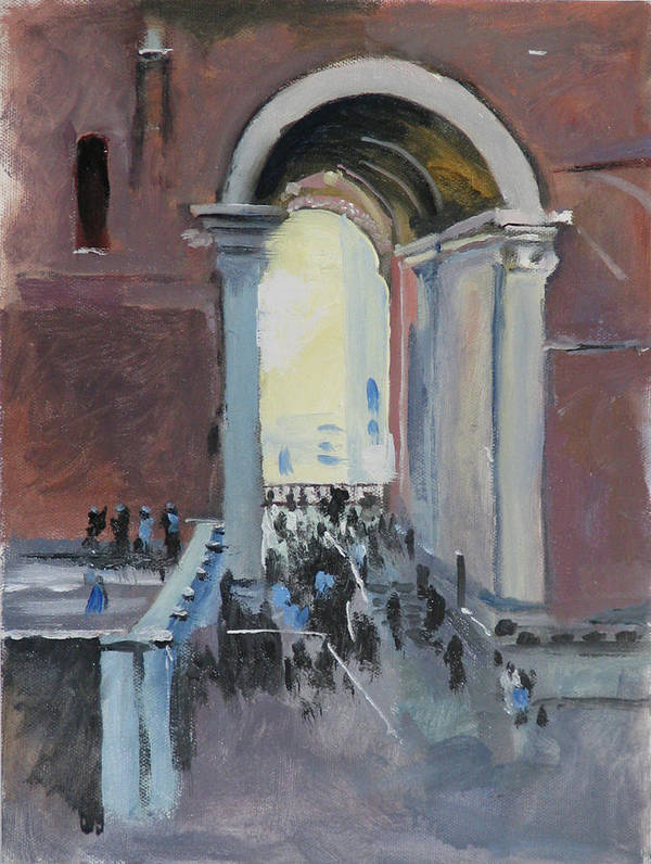 Rome Poster featuring the painting Vatican by Robert Bissett