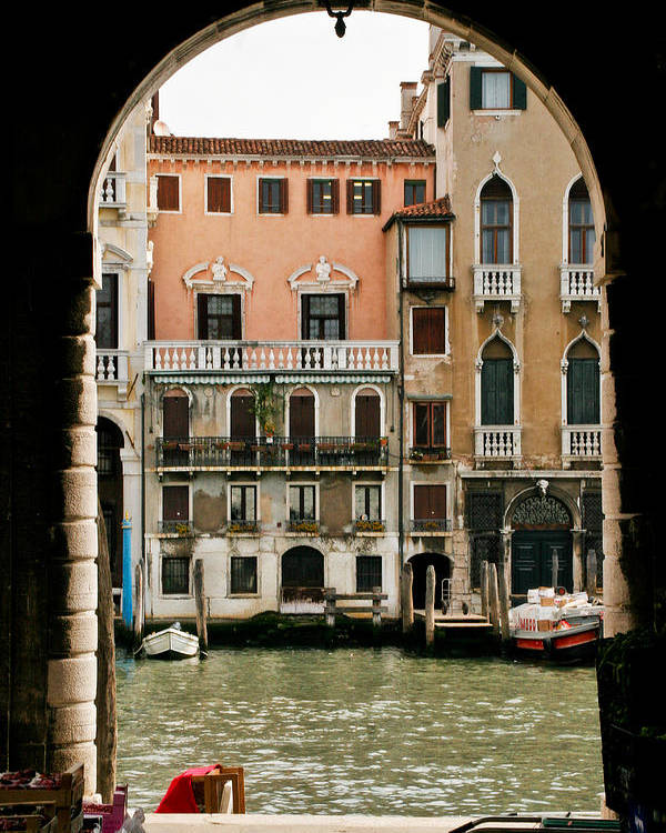 Venice Poster featuring the photograph Venice by Carl Jackson
