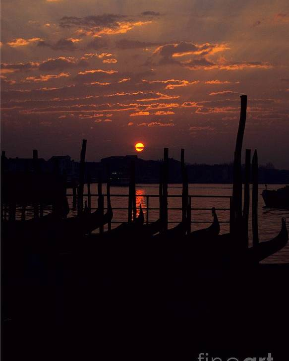 Venice Poster featuring the photograph Venice Sunrise by Michael Henderson