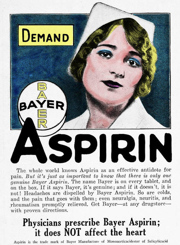 Image result for vintage aspirin