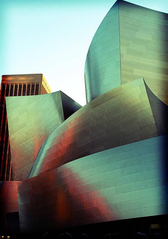 Disney Poster featuring the photograph Walt Disney Concert Hall by Ariane Moshayedi