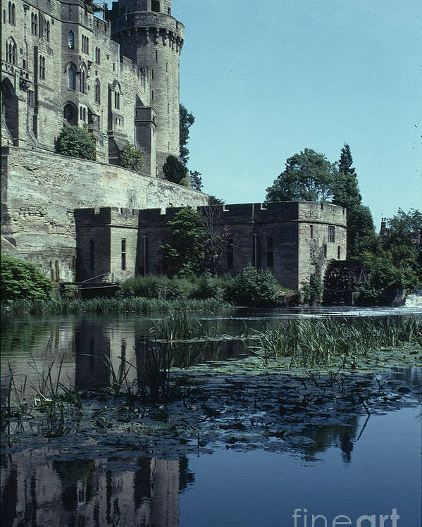 Warwick Poster featuring the photograph Warwick Castle by David Pettit