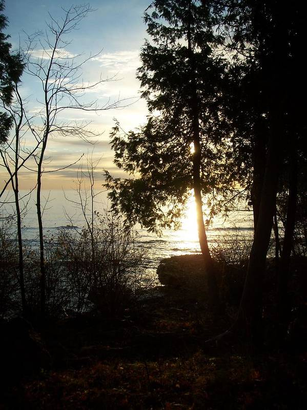 Washington Island Poster featuring the photograph Washington Island Morning 2 by Anita Burgermeister