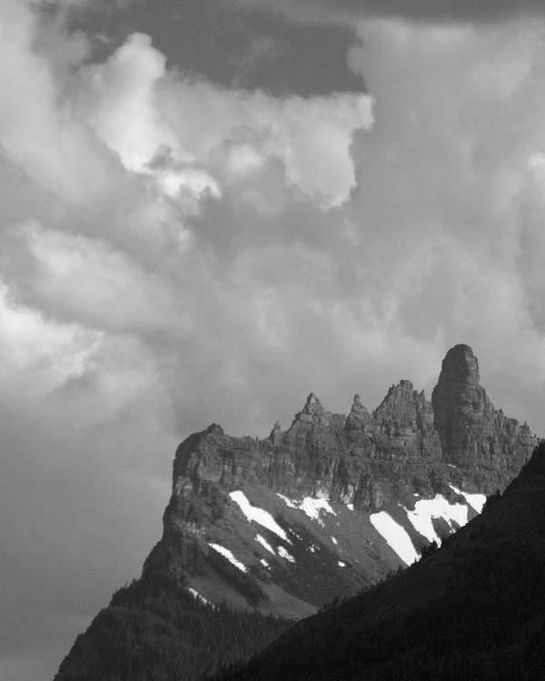 Ridge Poster featuring the photograph West Porcupine Ridge by Tom Buchanan