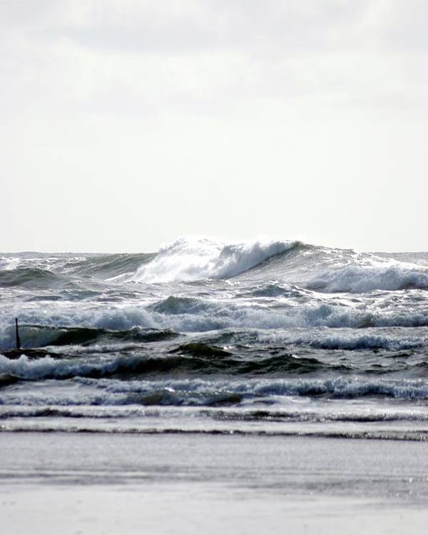 Poster featuring the photograph Westport Waves by JK Photography