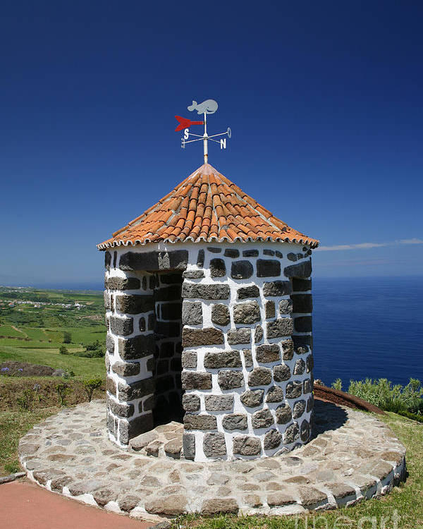 Azores Islands Poster featuring the photograph Whale Lookout Spot by Gaspar Avila