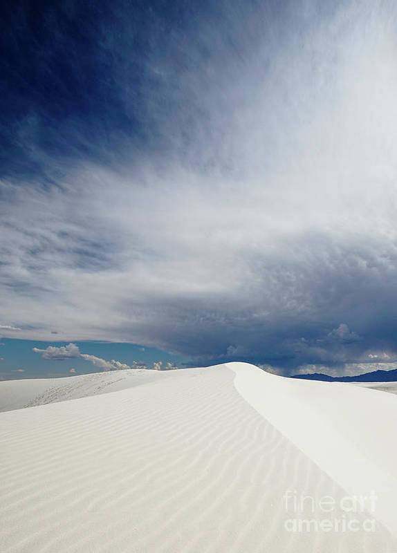 White Sands National Monument Poster featuring the photograph White Sands by DiFigiano Photography