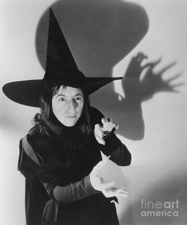 1939 Poster featuring the photograph Wicked Witch Of The West by Granger