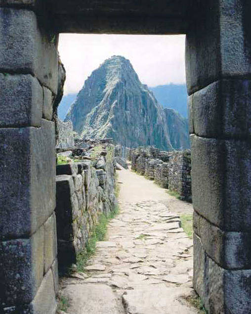 Peru Poster featuring the photograph Winay Picchu by Kathy Schumann