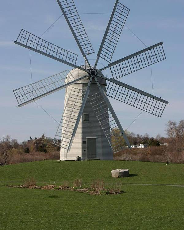 Wind Mill Poster featuring the photograph Wind Mill by Robert Torkomian