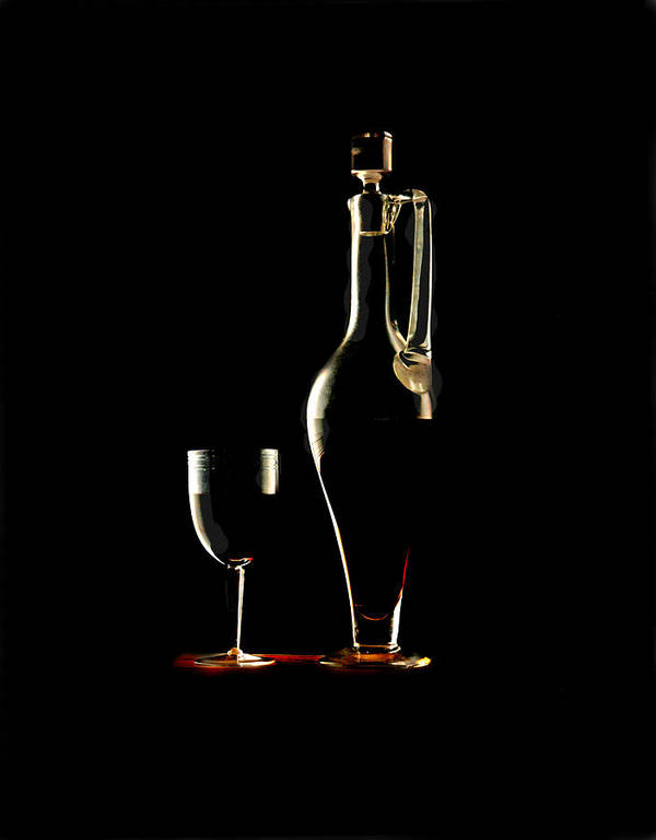 Still Life Wine Poster featuring the photograph Wine by Jon Daly