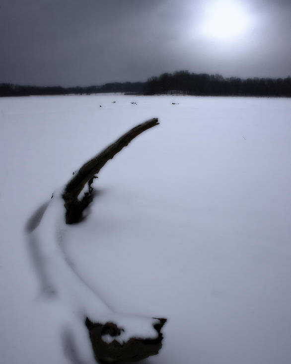 Winter Poster featuring the photograph Winter Moonrise by Kenneth Krolikowski